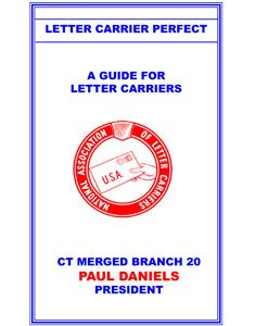 Letter Carrier Perfect