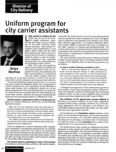 CCA Uniform Program